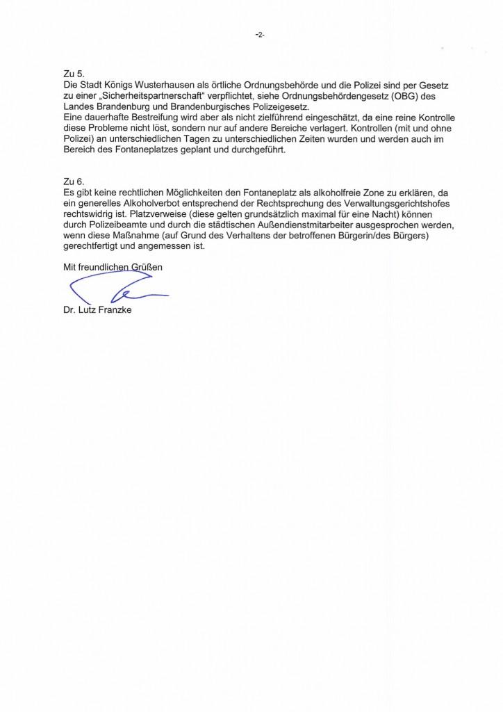 Schröter Tobias Antwort auf Anfrage om 02.03.15
